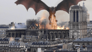 Game of Thrones Notre Dame
