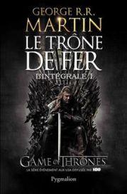 Le trône de fer - intégrale 1 - couverture